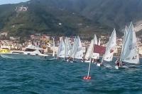 Poco vento nel week-end in Laser a Salerno, ma tre prove completate