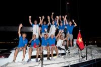 Vincenzo Onorato e il suo Mascalzone Latino conquistano la Volvo Hong Kong to Vietnam