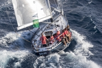 Mascalzone Latino è secondo alla Rolex Swan Cup 2016 fra gli yacht classici disegnati da Sparkman & Stephens
