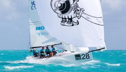 A Key West un inizio convincente: quarti dopo le prime tre prove